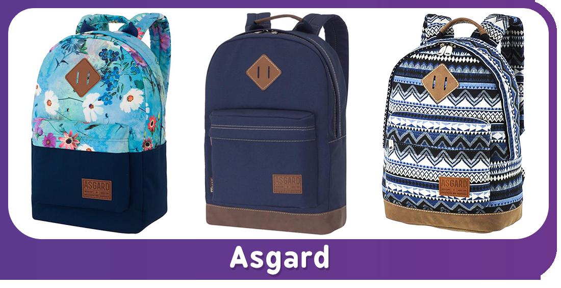 Молодёжные рюкзаки «Asgard»