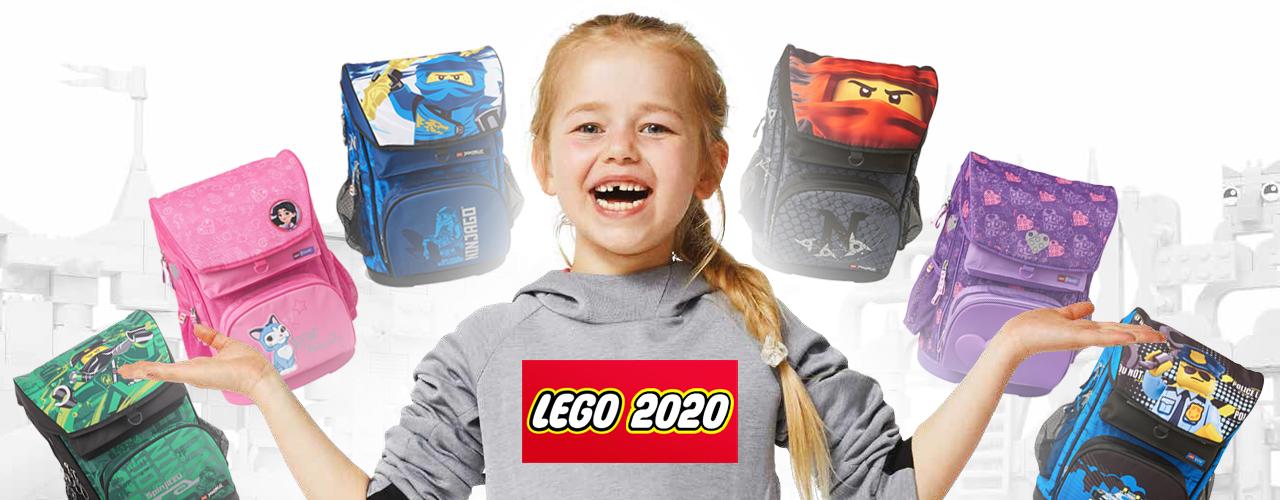 Ранцы LEGO. Коллекция 2020 года