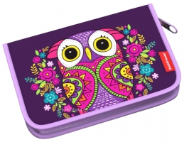 Пенал Erich Krause без наполнения - Flower Owl