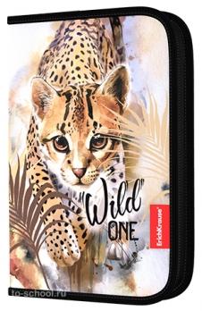 Пенал Erich Krause без наполнения - Wild Cat