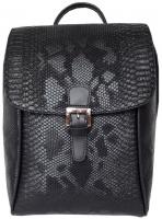 Рюкзак Elegant Quality - Чёрная матовая рептилия (967)