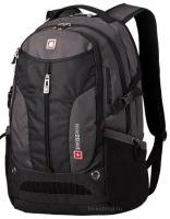 Рюкзак Swisswin - SW9980B (black/grey)