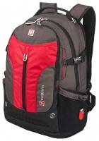Рюкзак Swisswin - SW9980R (red/grey)