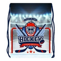 Мешок для обуви Оникс - МО-26-2 - Хоккей эмблема (54346)