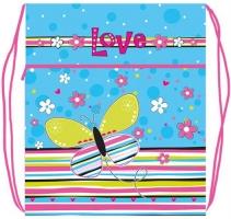 Мешок для обуви Оникс - МО-27-4 - Яркая бабочка (46916)