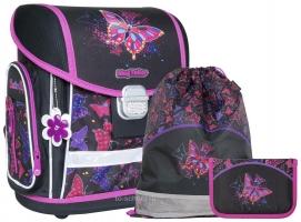 Школьный ранец MagTaller EVO - Rainbow Butterfly - с наполнением (21915-02)