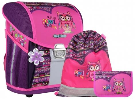 Школьный ранец MagTaller EVO Light - Owl Dreams - с наполнением (20917-031)