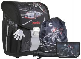 Школьный ранец MagTaller EVO Light - Robot - с наполнением (21917-07)