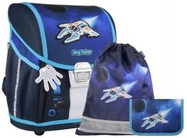 Школьный ранец MagTaller EVO Light - Spaceship - с наполнением (21917-33)