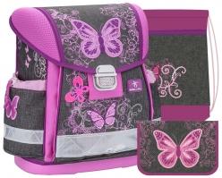 Школьный ранец Belmil Classy - Butterfly - с наполнением (403-13/515-set)