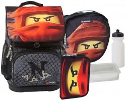 Школьный ранец LEGO Optimo - NINJAGO -  Kai of Fire - с пеналом на выбор (20179-2001-set1)