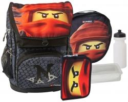 Школьный ранец LEGO Maxi - NINJAGO - Energy - с пеналом на выбор (20017-1908-set1)
