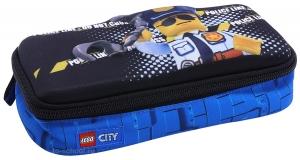 Пенал LEGO 3D с наполнением - City - Police Cop (20091-2003)
