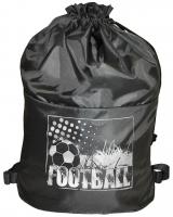 Мешок для обуви Спорт - Серый (футбол)
