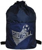 Мешок для обуви Спорт - Синий (Футбол)