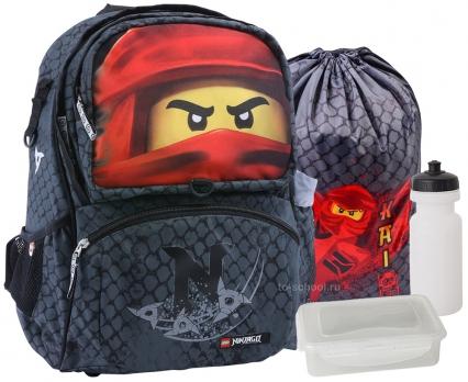 Рюкзак LEGO Freshmen - NINJAGO - Kai - с мешком (20189-2001-set1)