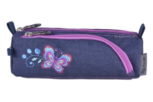 Пенал-косметичка Pulse - Jeans Flower (121411)