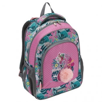 Рюкзак Erich Krause - ErgoLine 15L - Rose Flamingo - с наполнением