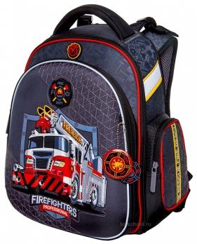 Школьный ранец Hummingbird Kids - TK79 - Firefighters Professional - с мешком