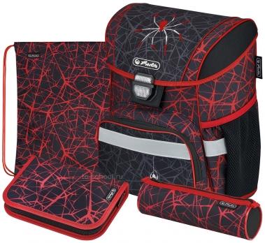Школьный ранец Herlitz Loop Plus - Spider - с наполнением (50032518)