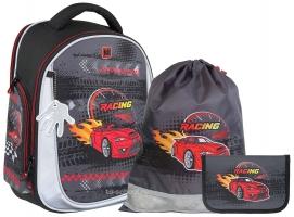 Ранец MagTaller Unni - Racing Red - с наполнением (41721-18)