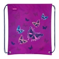 Мешок для обуви Herlitz - Glitter Butterfly