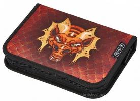 Пенал Herlitz с наполнением (31 предмет) - Dragon